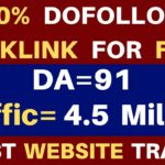 Create High Quality Dofollow BackLinks | High DA PA Sites