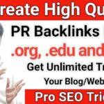 How to Create High PR Backlink from .edu .gov and .org Website (Hindi)