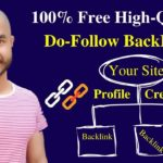 How to build free High Quality Dofollow Backlinks | Create a Profile, Get a Backlink