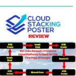 Cloud Stacking Poster REVIEW: Highjack The High Domain Authority of The Cloud To Rank In Google