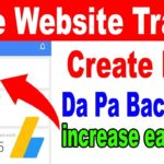 Free Website Traffic From Google || How To Create High Da Pa Backlinks
