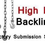 High PR Backlinks | Directories Submission Sites List