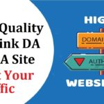 High-quality backlink | DoFollow Backlink On High DA 90+ PA Site