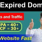 How To Buy Expired Domains With Traffic and Backlinks in Hindi Video 2019