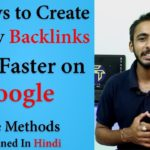 Top 10 Easy Ways to Create Quality Backlinks for your Website l Rank Faster on Google l SEO l Hindi