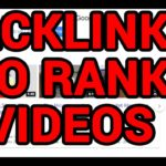 Build Backlinks to Youtube Videos