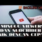 Cara Gratis Dapat 100 Backlink Untuk Youtube Channel
