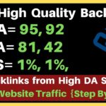 Free High Authority Backlinks from DA 95, 92- PA-81, 82 Website | High DA Websites | Boost Traffic