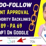 Free Quality DoFollow Backlinks Instant Approval High DA & PA   Off Page SEO - Link Building