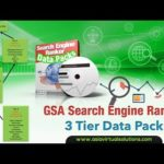 GSA Search Engine Ranker - 3 Tier Data Pack Overview