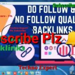 Get 100℅ Best Backlinks | Create Free high quality do follow Backlinks | SEO Link building 2019
