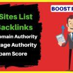High DA PA Low Spam Score .Edu Sites List For Backlinks | Boost Website Ranking in SERP |BloggingQnA