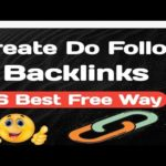 How to Create DoFollow Backlinks || Best 6 methods for Free in 2019