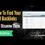 How to Find Your Site's Bad Backlinks and Disavow Them with Monitor Backlinks