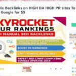 Manual 50 Mix Backlinks on HIGH DA HIGH PR sites To RANK Your Site On Google for $5 On SEOClerks