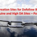 Profile Creation Sites for Dofollow Backlinks - Genuine and High DA Sites - Part 2