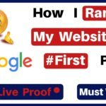 Rank Your Website On Google's First Page in 2019 | Search Engine Optimization | My Personal Method