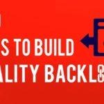Top 10 Ways to Build Quality Backlinks