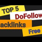 Top 5 DoFollow Backlinks For SEO