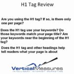 Using H1 Tags to Improve Search Engine Ranking