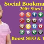 200+ High PR Social Bookmarking Sites List 2019 Thats Boost SEO And Traffic