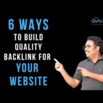 6 Ways to build quality Backlinks to boost your SEO ranking