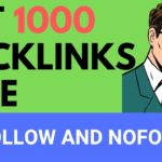 Backlink Generator Tool: Get 1000 Backlinks Free |Do-follow and No-follow|