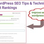 Best WordPress SEO Tips & Techniques to Boost Rankings