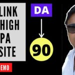 Create Free Do follow BAcklink from high DA PA website in Hindi