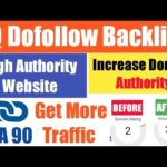 Create High Quality Do Follow Backlinks From High DA-PA Website | Increase Your Website Traffic