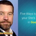Five Ways to Improve your Site's Ranking in Google