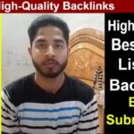 Free High Quality Backlinks - Improve Search Engine Ranking | SEO Blog Submission
