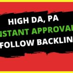 High DA PA Dofollow Instant Approval High Quality Backlinks For Website | Boost Website Ranking