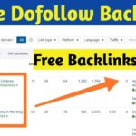 How To Create Backlinks in 2019 for website | Create Dofollow Baclinks