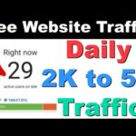 How To Increase Free Real Organic Instant Website Traffic Without Seo 2019 Free Blog Website Traffic