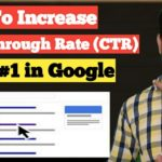 How to Increase CTR and rank post #1 in Google First Page | SEO Strategy