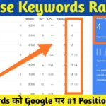 How to Increase Keywords Ranking with SEO Tool and Generate Organic Traffic