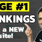 How to Rank on Google First Page (#1 Ranking with a NEW site)