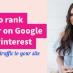 How to improve your Google ranking with Pinterest