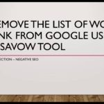 How to remove the worst SEO backlinks in your backlink profile