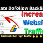 Make High Quality Instant Approval Dofollow Backlinks| Instant Approve Dofollow Backlinks |Backlinks