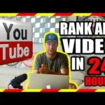 YOUTUBE VIDEO SEO - How To Rank ANY Youtube Video 1ST Page In 24 Hours FAST!