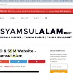 200 PBN Package - SyamsulAlam.net