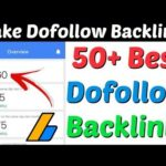50+ Dofollow Backlinks Sites List 2020 | Create Backlinks For Website | Make Dofollow Backlinks 2020