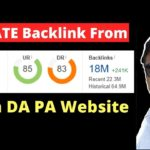 Create Do Follow Backlink From High DA PA website In Hindi