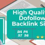 Create High Quality Dofollow BackLinks | High DA PA Sites improve google Batter search ranking