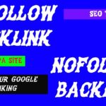Dofollow Backlink, Nofollow Backlink, 2020 High DA, PA site, Boost your google ranking.