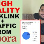 GET HIGH QUALITY BACKLINKS + TRAFFIC FROM QUORA [Step By Step] in Hindi