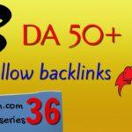 Get 3 DA 50+ free dofollow backlinks: Ampleom.com backlink series