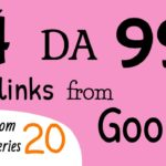 Get 4 DA 99 dofollow backlinks